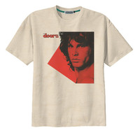 Retro Jim Morrison The Doors Rock n Roll Music T-Shirt Tee Organic Cotton Vintage Look Size S M L