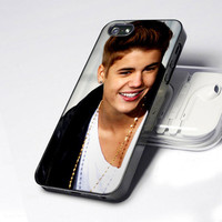 JB Justin Bieber Photo IS0029 - Design - iPhone 4 / 4S / 5 - Black / White / Clear