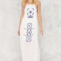 Sobia Embroidered Dress