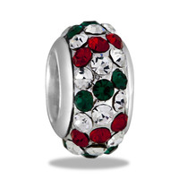 DaVinci Beads Crystal Red, Green, & Clear Jewelry