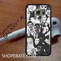 Shawn mendes Black and White Collage 3 For galaxy S6, Iphone 4/4s, iPhone 5/5s, iPhone 5C, iphone 6/6 plus, ipad,ipod,galaxy case