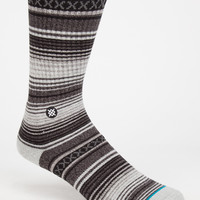 Stance Gaucho Classic Crew Mens Socks Black One Size For Men 26704610001