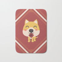 Year of the Dog Bath Mat by lalainelim