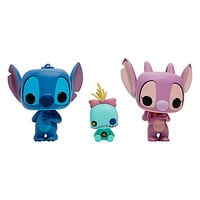 Funko Disney Lilo & Stitch Pop! Stitch, Scrump & Angel Vinyl Figure Set Hot Topic Exclusive