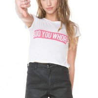 Brandy ♥ Melville |  Boo You Whore Top