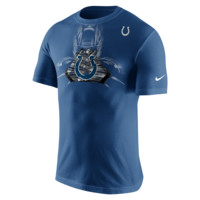 Nike Team Glove (NFL Colts) Men's T-Shirt Size Small (Blue)