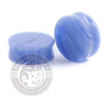 Blue Grain Agate Stone Plugs