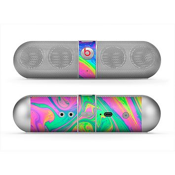 The Neon Color Fushion V3 Skin for the Beats by Dre Pill Bluetooth Speaker