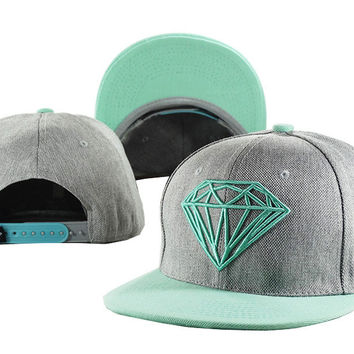 Perfect Diamond Women Men Edgy Embroidery Sports Hip Hop Baseball Cap Hat