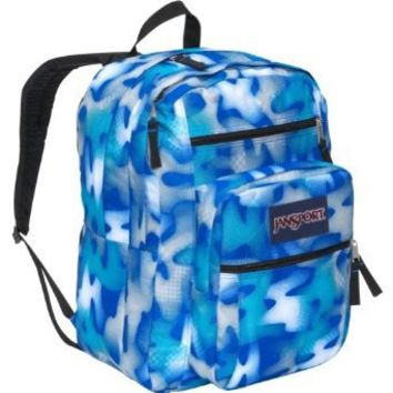 JanSport Big Student Backpack (Blue Streak Tone Deaf)