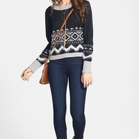 Rubbish® Sweater & STS Blue Jeans | Nordstrom