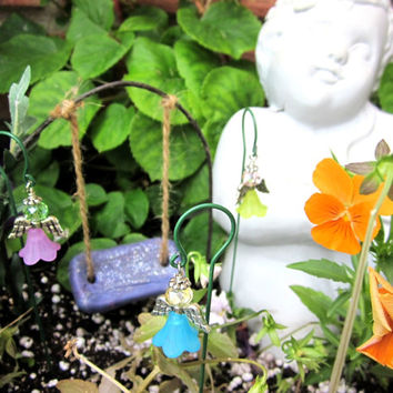 Fairy Garden Angel, Miniature Angel, Fairy Garden Accessories, Handmade, QTY 1, fairies items, dollhouse items, Garden Angel, miniatures