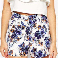 New Look Co-Ord Floral Printed Skort
