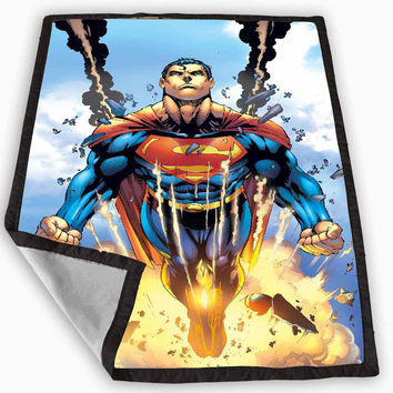 comic superhero superman Blanket for Kids Blanket, Fleece Blanket Cute and Awesome Blanket for your bedding, Blanket fleece **