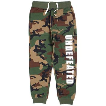 Undefeated Compact Sweatpants Camo