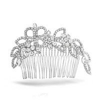 Bling Jewelry Ladylike Leaf Comb