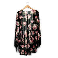 Floral Print Kimono from Love Street