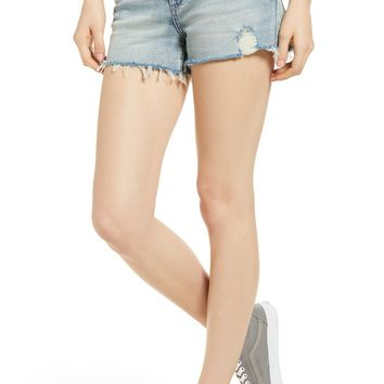 BLANKNYC The Astor Distressed Cutoff Denim Shorts (Unsung Hero) | Nordstrom