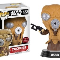 Toy Wars Exclusive Star Wars Zuckuss Pop! Vinyl Figure
