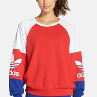 Women's adidas Originals 'LA Crew' Colorblock Sweatshirt,