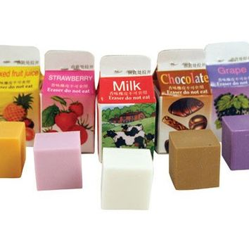 Scented Erasers 5 Per Set - Kikkerland Design Inc