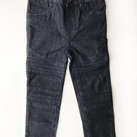 Dark Moto Child's Skinny Jeans