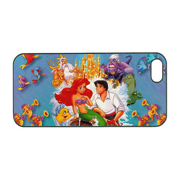 little mermaid and prince-Samsung  Note 2,Samsung Galaxy S4 case , Samsung Galaxy S3  , iPhone 4 case, iphone 4S case, iPhone 5 case