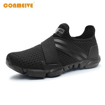 Sports Breathable Sneakers Slip-on for Men