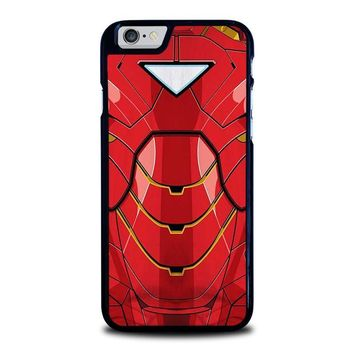 iron man costume iphone 6 6s case cover  number 1
