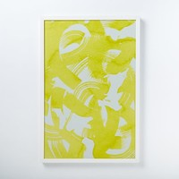 Julia Kostreva Wall Art - Citrus Abstract