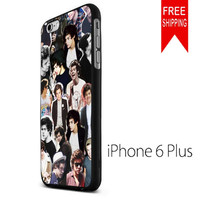 Harry Style Art Collage MCH FDL iPhone 6 Plus Case