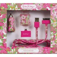 Lilly Pulitzer - Charging Kit iPhone - Beach Rose