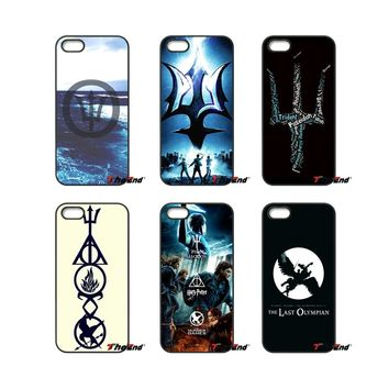 Percy Jackson Divergent Art For iPod Touch iPhone 4 4S 5 5S 5C SE 6 6S 7 Plus Samung Galaxy A3 A5 J3 J5 J7 2016 2017 Case Cover