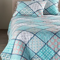 Nordstrom at Home 'Mediterranean Tiles' Comforter