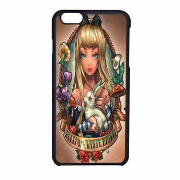 Princess Alice In Wonderland Disney Old School iPhone 6 Case
