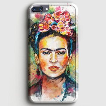 Frida Kahlo Vintage Floral iPhone 8 Plus Case | casescraft