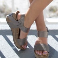 Heavenly Being Pewter Steel Wedges