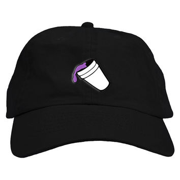 Purple Drank Lean Drink Dad Hat