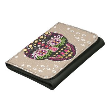 Sweet Sugar Skull - Wallet