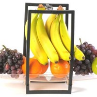 Zojila Andalusia Fruit and Banana Holder, Clear