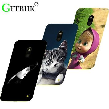 Hot Ultra Thin Back Cover For Nokia Lumia 620 Protective Phone Case Horse Dog Cat Handsome Tiger Fruits Cases