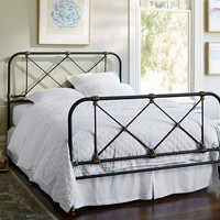 ATTICUS IRON BED