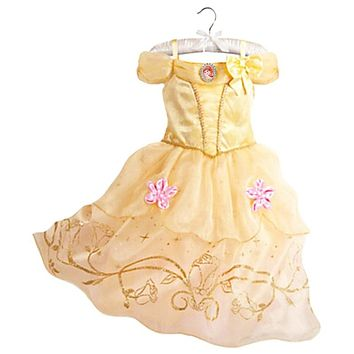 Belle Dress for Kids Costume Rapunzel Party Wedding Dress Costume Kids Girls Princess Dress Belle Sleeping Beauty Aurora Costume
