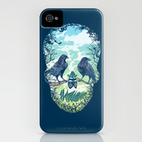 Nature's Skull iPhone Case by Rachel Caldwell | Society6