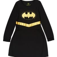 Batgirl Black & Gold Nightgown - Toddler & Girls