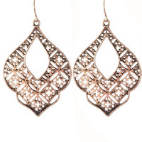 Spanish Rose Gold Earrings