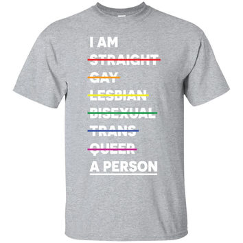 I'm A Person LGBT Pride for T-shirt - Limited Edition-01