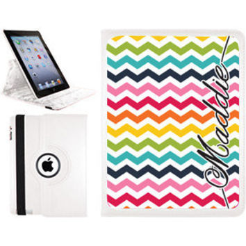 Monogrammed iPad Mini Swirl Case - Personalized iPad Mini Case - iPad Mini Case