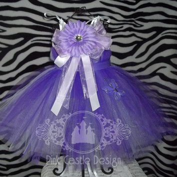 Pretty in Purple - Birthday - Party - Pageant - Fun - Summer Dress - Babydoll Top - Tutu - Infant/Baby, Toddler - Photo -