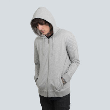 Throw On Hoodie (Grey)